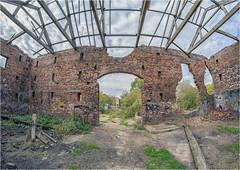 Old Park Farm (AngelCrutch) Tags: wakefield westyorkshire uk britain england history oldbuilding bricks abandoned derelict barn stanleyferry rubbish oldparkfarm