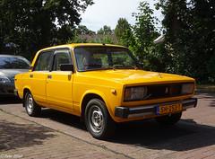 1981 Lada 2105 1300 (VAZ 2105 / Лaдa 2105 / ВАЗ 2105) (peterolthof) Tags: dwingeloo peterolthof sh253t