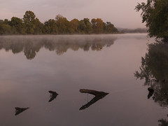 CRW_2175 (David J. Thomas) Tags: bethesda arkansas whiteriver clouds fog farms fields roads dawn sunrise morning