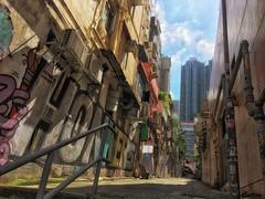 streetart - Lan Kwai Fong, Hong Kong
