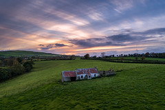 """A Strange Kind of Beauty"" (Gareth Wray - 10 Million Views, Thank You) Tags: old abandoned house cottage glenmornan holly hill moorlough dji phantom p4p pro uav four drone aerial quadcopter northern ireland ulster ni uk scenic landscape sperrins sperrin county tyrone gareth wray photography strabane nikon nikkor sky sun traditional set tourist tourism site visit countryside country side scape grass british sunset irish colourful hills photographer home vacation holiday europe farm homestead stead rise 2018 field"