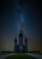 Heaven's Above (59roadking - Jim Johnston) Tags: ifttt 500px cathedral church night sky milky way composite stars