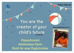 You are the creator of your child's future_indianabacus (Ind-Abacus) Tags: abacus mental mind math maths arithmetic division q new invention online learning basheer ahamed coaching indian buy tutorial national franchise master tutor how do teacher training game control kids competition course entrepreneur student indianabacuscom
