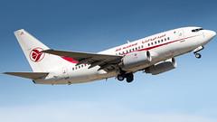 Boeing 737-6D6 7T-VJS Air Algérie (William Musculus) Tags: airport spotting basel mulhouse freiburg lfsb bsl mlh eap euroairport flughafen 7tvjs air algérie boeing 7376d6 dah ah 737600