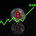 Bitcoin with value increase to $100.000