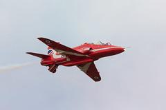 Red Arrow (Future-Echoes) Tags: 4star 2018 aeroplanes aircraft airplane airshow cambridgeshire duxford flight raf redarrows