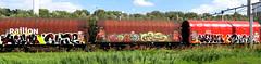 graffiti on freights (wojofoto) Tags: amsterdam nederland netherland holland graffiti streetart freighttraingraffiti freighttrain freights fr8 vrachttrein cargotrain wojofoto wolfgangjosten snare heyou