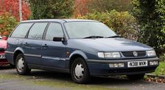 N381 WKM (2) (Nivek.Old.Gold) Tags: 1995 volkswagen passat cl estate 1781cc