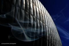 Luna Nuova - New Moon (Ecinquantotto (+ 1.890.000 views !!! GRAZIE) Tags: architettura architecture art arte abstract colori colors clouds d3000 dreams dream geometrie geometric italia italy nikon nikond3000 ombre rome roma auditorium space