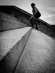 ... (Ewedan Photography) Tags: blackwhite bw blackandwhite bnw czarnobiale czarnobiało schwarzweis schwarzweiss danielslominski ewedan einfarbig mensch people menschen reisen szczecin polska polen poland photo photography pictures picture pic fujifilm fuji foto fotografie fotografia human image treppe linien mono monochrome streetphotography streetart strase streetstyle ulica walyjagielonskie