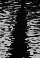 water riples, shadow, victoria park lake e2, 2018-11-11, 17-25-35 (tributory) Tags: london eastlondon parks monochrome shadows dusk ruipples water lake urban sombre sinister chasm abstract pattern londonphotographer