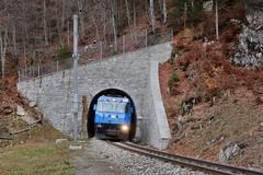 RhB Klosters Tunnel (Kecko) Tags: 2018 kecko switzerland swiss schweiz graubünden graubuenden gr klosters platz prättigau davos rhätischebahn rhaetian railway railroad bahn viafierretica rhb tunnel zug train lokomotive locomotive 652 ge44 swissphoto geotagged geo:lat=46869800 geo:lon=9878530