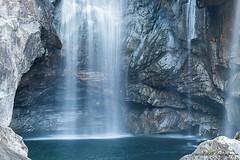 Ticino, Switserland (crispin52) Tags: waterfall switserland ticino longexposure forest rocks water blue nikon