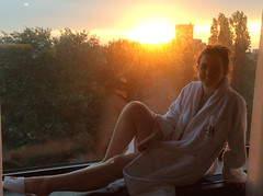 Den Haag sunset from Marriott Hotel (bruvvaleeluv) Tags: den haag denhaag netherlands capital city sunset marriott hotel