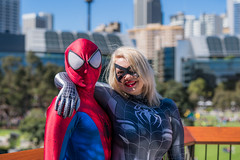 DSC00475 (Damir Govorcin Photography) Tags: marvel comics spiderman cosplay costume character oz comic con sydney 2018 darling harbour sony a9 sigma 50mm art portrait people