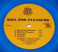 Blood Feast Kill for Pleasure coloured blue vinyl (vinylmeister) Tags: vinylrecords albumcoverphotos gramophone lp heavymetal thrashmetal deathmetal blackmetal vinyl schallplatte disque album
