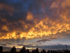 Cloudscapes #214 (tt64jp) Tags: 雲 風景 自然 空 日本 cloud sky nature japan cloudy gray weather 天気 nuage wolke nube 운 일본 云 sunset 夕焼け オレンジ orange 色 color japon 群馬 太田 gunma ota