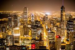 Sky Blue and Black (Thomas Hawk) Tags: america chitown chicago illinois johnhancockcenter signatureroom the95th thesignatureroom usa unitedstates unitedstatesofamerica architecture night skyscraper us fav10 fav25 fav50 fav100