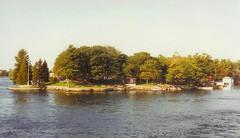 Island on the St. Lawrence (RockN) Tags: october 1992 wedding jimmyandlaurie canada unitedstates stlawrenceriver alexandriabay newyork