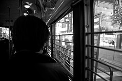 The Guy in Front of Me (Generik11) Tags: people muni fline trolley transit sf