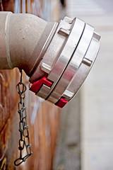 No Flow (brev99) Tags: d610 nikon28105 28105mmf3545d urban tulsa downtown bradyartsdistrict on1photoraw2018 ononesoftware hydrant metal shallowdof chain pipe