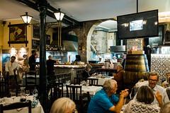 Inside the Restaurant (Poul_Werner) Tags: porto portugal vitusrejser ferie rejse travel santamarinha pt