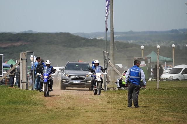 06/10/18 - Prefeito de Rivera e Ministro do Turismo do Uruguai visitam a Copa Truck - Fotos: Duda Bairros