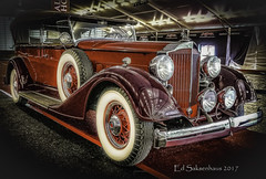 1932 Packard (Edward Saksenhaus RPh.) Tags: car auto vehicle classic vintage old gasoline packard transportation ride travel
