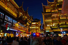 Yuyuan Market (Gary Burke.) Tags: yuyuanmarket bazaar shopping architecture tourism shanghai touristattraction people shoppingcenter stores shops shop store view wanderlust traveling night evening building outdoor vacation klingon65 travel garyburke city urban citylife cityliving lights buildings trip asia chinese asian travelphotography sony a6300 mirrorless sonya6300 china prc peoplesrepublicofchina seetheworld citystyle citystreets cityscape market chinesearchitecture shoppingdistrict nightlife nitelife nanshi crowded crowd