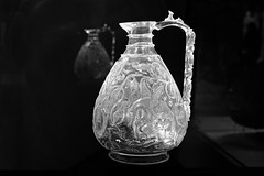 A Rock Crystal Ewer from Egypt (DSCF1769) (Piyushgiri Revagar) Tags: glass antique jug old drink isolated wine pitcher vintage container design traditional art white object background bottle beverage jar carafe ancient liquid alcohol decanter retro vector cup empty pot transparent illustration set shiny ceramic decoration flask milk decorative shape nobody food water blue culture pottery handle vase meal silhouette silver piyushgiri revagar kruti akruti 22