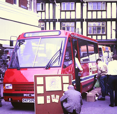 Slide 123-36 (Steve Guess) Tags: kingstonuponthames kingston surrey greater london england gb uk bus westlink mcw metrorider minibus stanwell buses hoppa publicity unionstreet d473pon