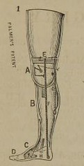This image is taken from The Palmer arm and leg : adopted for the U.S. Army and Navy by the Surgeon-General, U.S.A., and by the Chief of the Bureau of Medicine and Surgery : manufactured only under the direction of the inventor and patentee (Medical Heritage Library, Inc.) Tags: united states army artificial limbs military personnel american civil war medicalheritagelibrary medicineintheamericas usnationallibraryofmedicine americana date1865 id101462403nlmnihgov