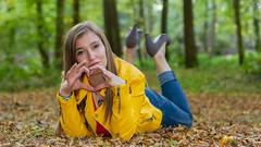 IMG_9439 (fab spotter) Tags: younggirl portrait forest levitation brenizer extérieur lumièrenaturelle