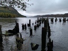 What's left of the dock at the loch (esmithiii2003) Tags: dock highlands esmithiii2003 esmithiii lochness scotland loch lake pier old wood rotted