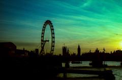 img028 (murphydn2) Tags: crossprocess xpro 35mm pentax london bridge londoneye lomo lca river thames skyline