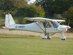G-HBBH Ikarus C 42 (c/n 0608-6835) Popham (andrewt242) Tags: ghbbh ikarus c 42 cn 06086835 popham