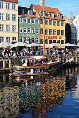 Nyhavn Boat Reflection (Bri_J) Tags: copenhagen denmark københavn danmark city nikon d7500 nyhavn boat reflection building canal