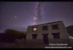 The Milky Way above a Tibetan home, Meerak village, Pangong Lake, Ladakh, India (jitenshaman) Tags: travel worldtravel destination destinations asia asian india indian ladakh ladakhi landscape landscapes milkyway galaxy astral night nightsky nightskies dark tibetan home house window light lit longexposure thenightsky constellation constellations astralphotography astronomy star stars nightime nighttime meerak merak pangonglake nature