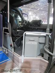 MERCEDES-BENZ Sprinter City 75 - Daimler Buses (Clément Quantin) Tags: bus autobus minibus urbain ligne mercedesbenz sprinter city 75 sprintercity sprintercity75 daimler daimlerbuses autocarexpo lyon 2018