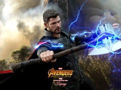 A3Thor_008 (siuping1018) Tags: hottoys marvel disney avengers actionfigures photography onesixthscale siuping infinitywar thor canon 5dmarkii 50mm