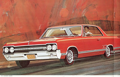 1965 Oldsmobile Cutlass 442 Hardtop (coconv) Tags: car cars vintage auto automobile vehicles vehicle autos photo photos photograph photographs automobiles antique picture pictures image images collectible old collectors classic ads ad advertisement postcard post card postcards advertising cards magazine flyer prestige brochure dealer 1965 oldsmobile cutlass 442 hardtop 4 2 door muscle coupe olds f85