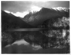 (sol exposure) Tags: missionreservoir montana polaroid 450 type 6 type665 expired