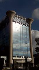 Eur - Terminal B. (gianluigi.novelli1971) Tags: eur palazzo luci ombre finestre roma colonne edificio all'aperto rome riflesso
