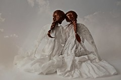 together we can fly (dolls of milena) Tags: bjd resin doll popovy portrait wings angels