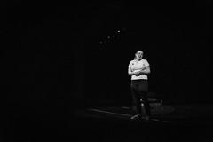 The Humor Games (Phil Roeder) Tags: desmoines iowa desmoinespublicschools lincolnhighschool thehumorgames thehungergames play theater rehearsal blackandwhite monochrome canon6d canonef24105mmf4lisusm