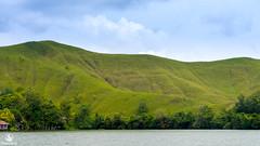 bukit-disekitar-danau-sentani-festival-makan-papeda-kampung-abbar-2 (Agung Hari W) Tags: pulangkepapua abbar papeda papua sagu