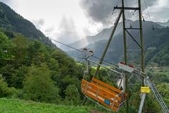 Andermatt - Amsteg: Personentransport verboten (1/3) (jaeschol) Tags: cantonuri europa europe kantonuri kontinent sabbatical2018 schweiz suisse switzerland seilbahn personentransport