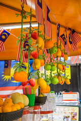 Little Street Store offering different kinds of Fruits in Kuala Lumpur