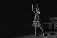 Ceci n'est pas une ile (drugodragodiego) Tags: teatro spettacolo actress attrice portrait ritratto blackandwhite blackwhite bw biancoenero brescia lombardia italy pentax pentaxk1 k1 pentaxda60250mmf4edifsdm pentaxda60250mm