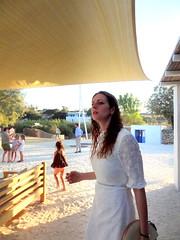 Peering Afield with Hope (dimaruss34) Tags: greece brooklyn newyork dmitriyfomenko image sky antiparos beachhouseresort girl woman children bench shed trees buildings